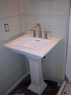 At least the sink looks nice.