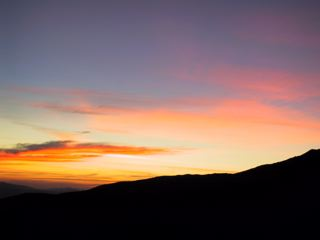 Some sort of sunrise.
