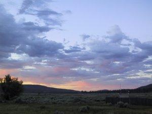 More Sunrise. From Lake Hemet Store on HWY 74. 30th June 2009