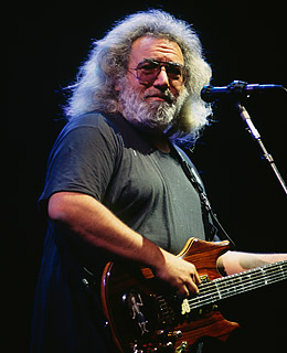 A lovely centered picture of Jerry.