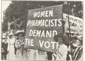 Women compounding chemists are pretty upset too, you know.