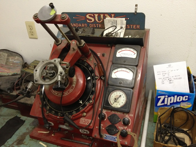 A lovely centered picture of a Sun distributor machine.