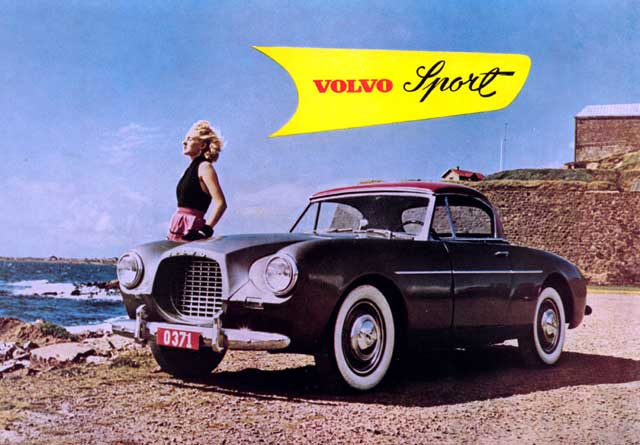 Volvo 1900 Sport hotness.