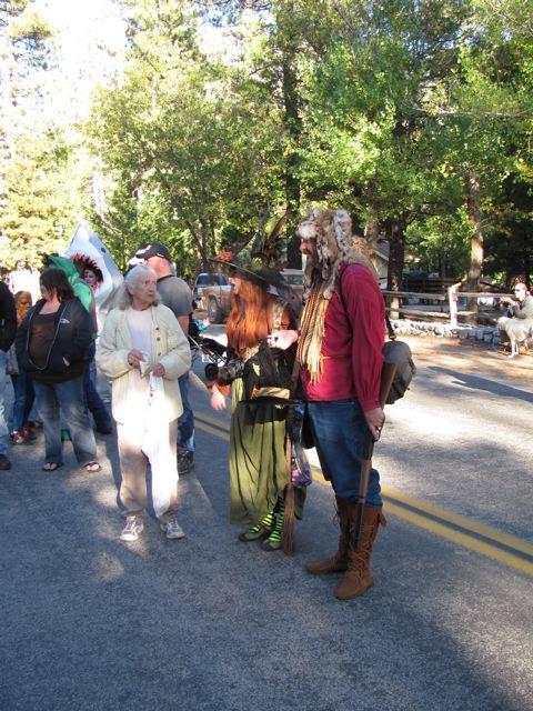 Idyllwild Hallowe'en Parade 2010